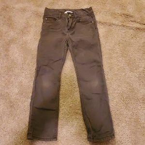 H&M Boys skinny gray pants